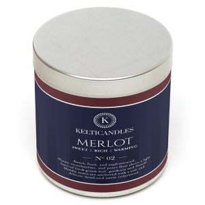 merlot soy candle